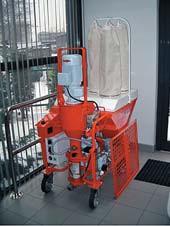 Механизированная гипсовая штукатурка, PFT, Самара