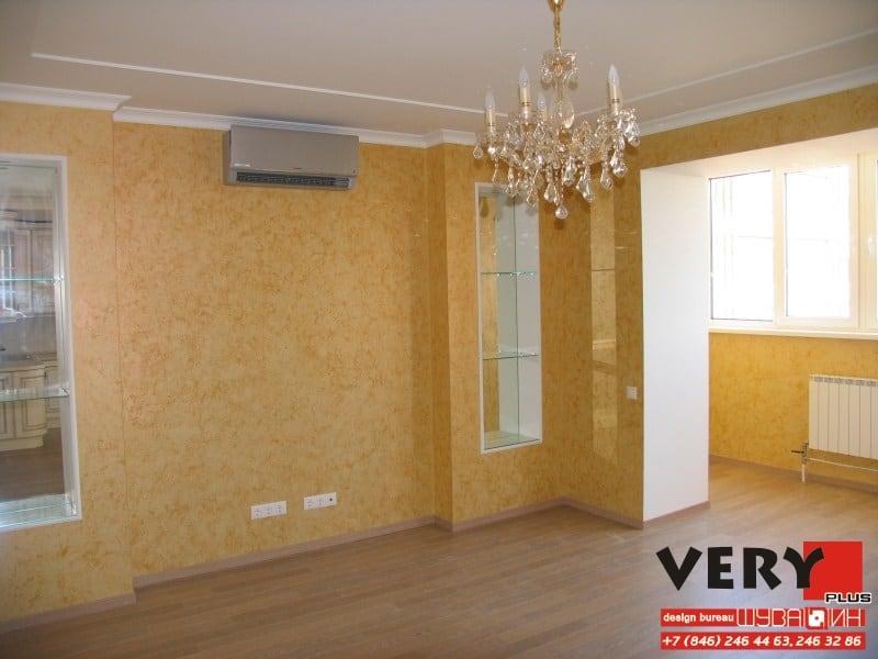 Дизайн проект интерьера квартиры в Самаре