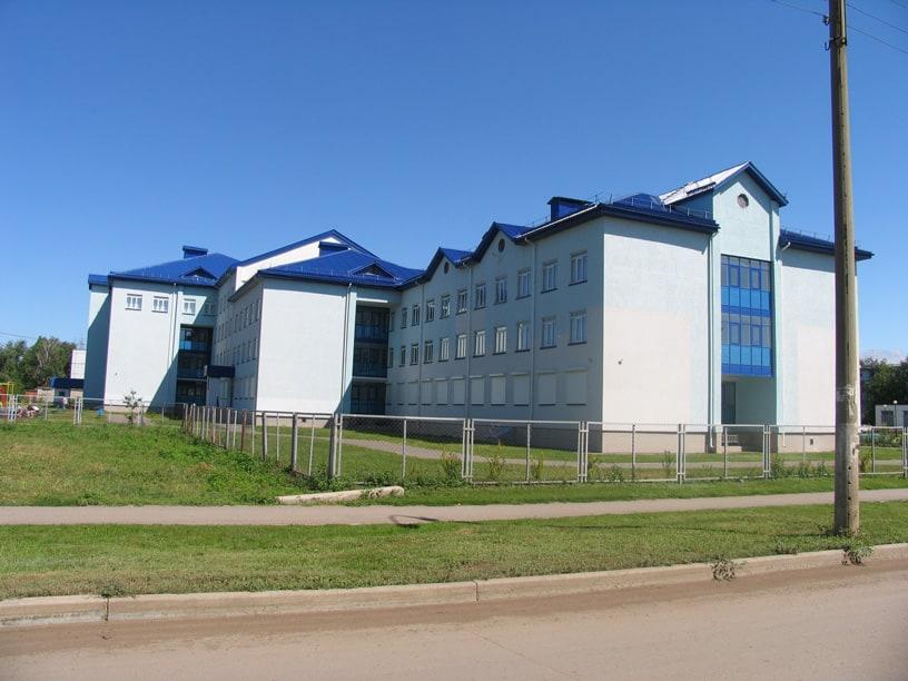 Штукатурка школы на 1200мест с общежитием