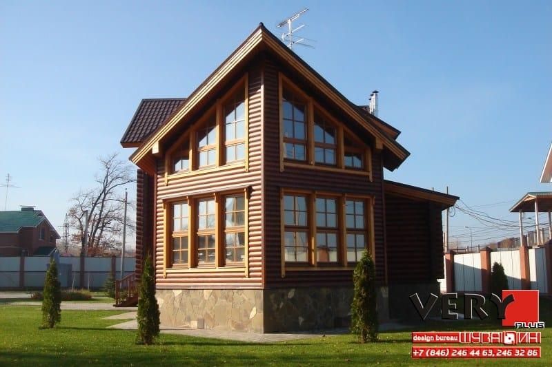 320 кв.м. Реализован проект дома
