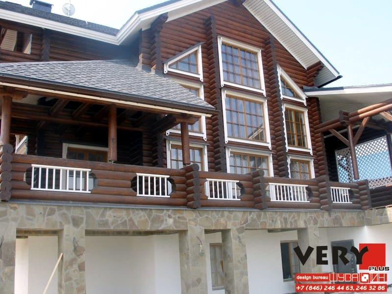 530 кв.м. Реализован Проект дома