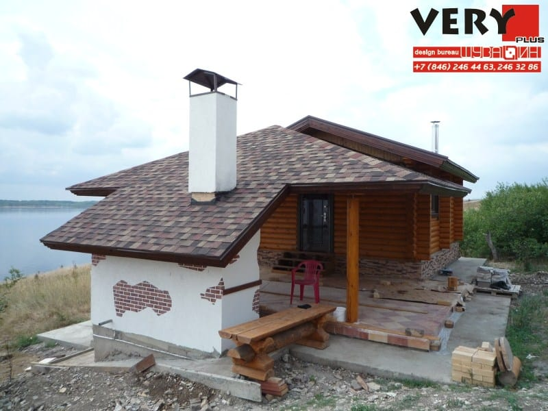 600 кв.м. Реализован Проект дома