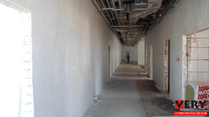 Штукатурка стен на Сбербанке в Самаре по заказу СКМ Групп Пенза
