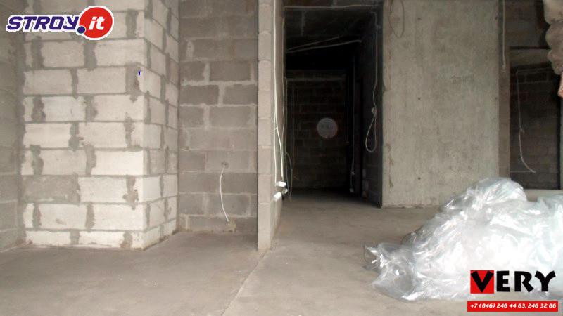 Устройство полусухой стяжки и гипсовой штукатурки на ЖК Бриг в городе Самаре
